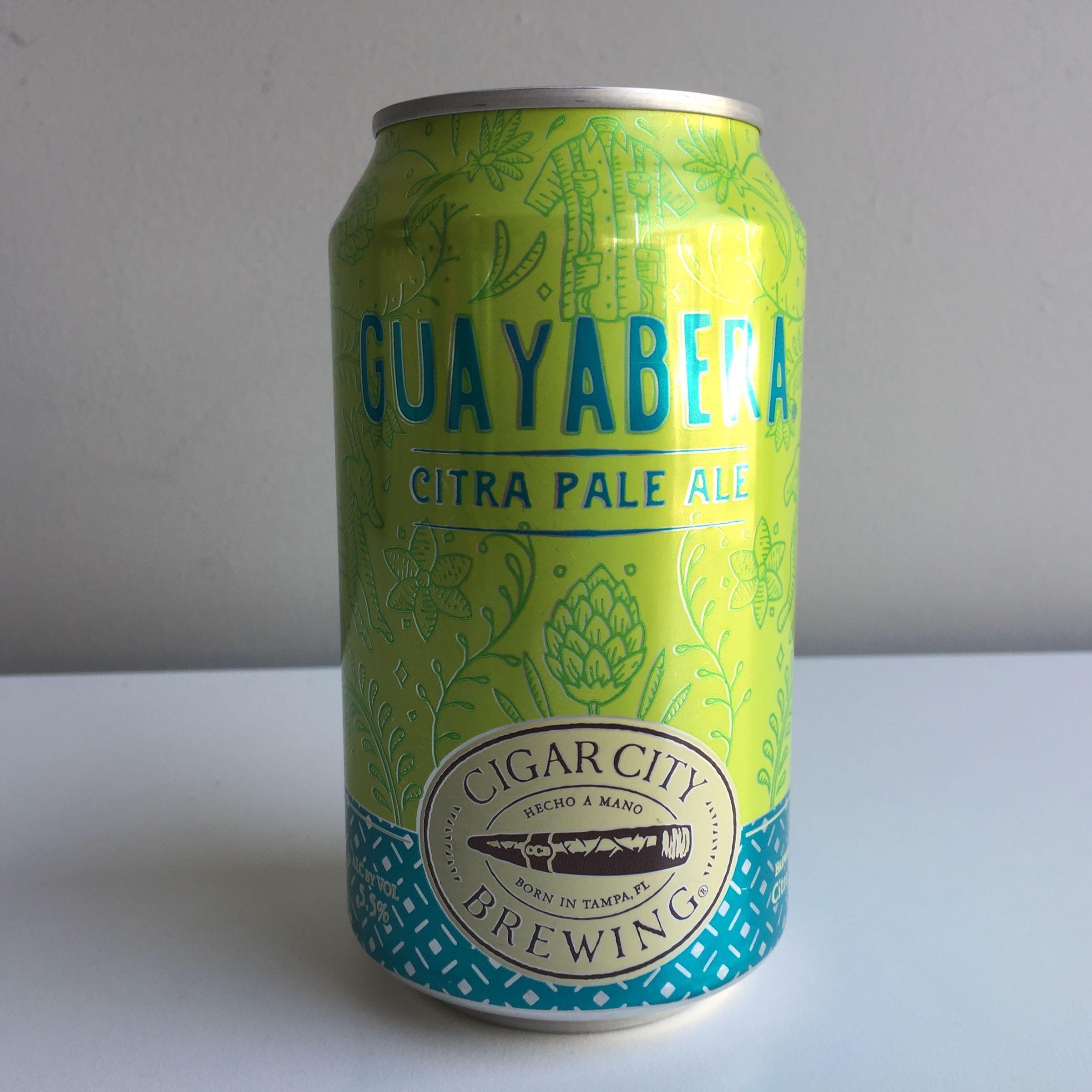 Cigar City Brewing 'Guayabera' Citra Pale Ale 355ml 5.5% ABV