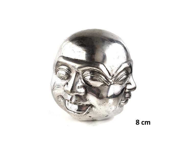Fyra ansikten silver