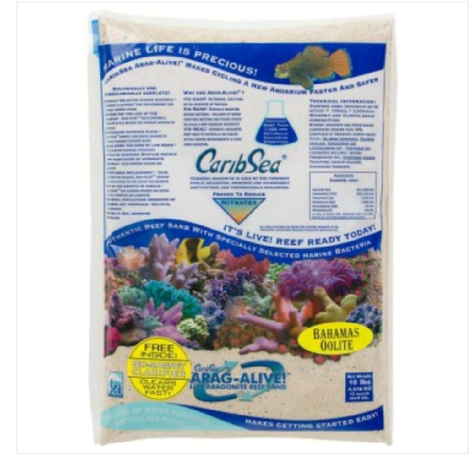 Caribsea Special Grade Reef 9,07 kg - 1-2 mm ( live sand)