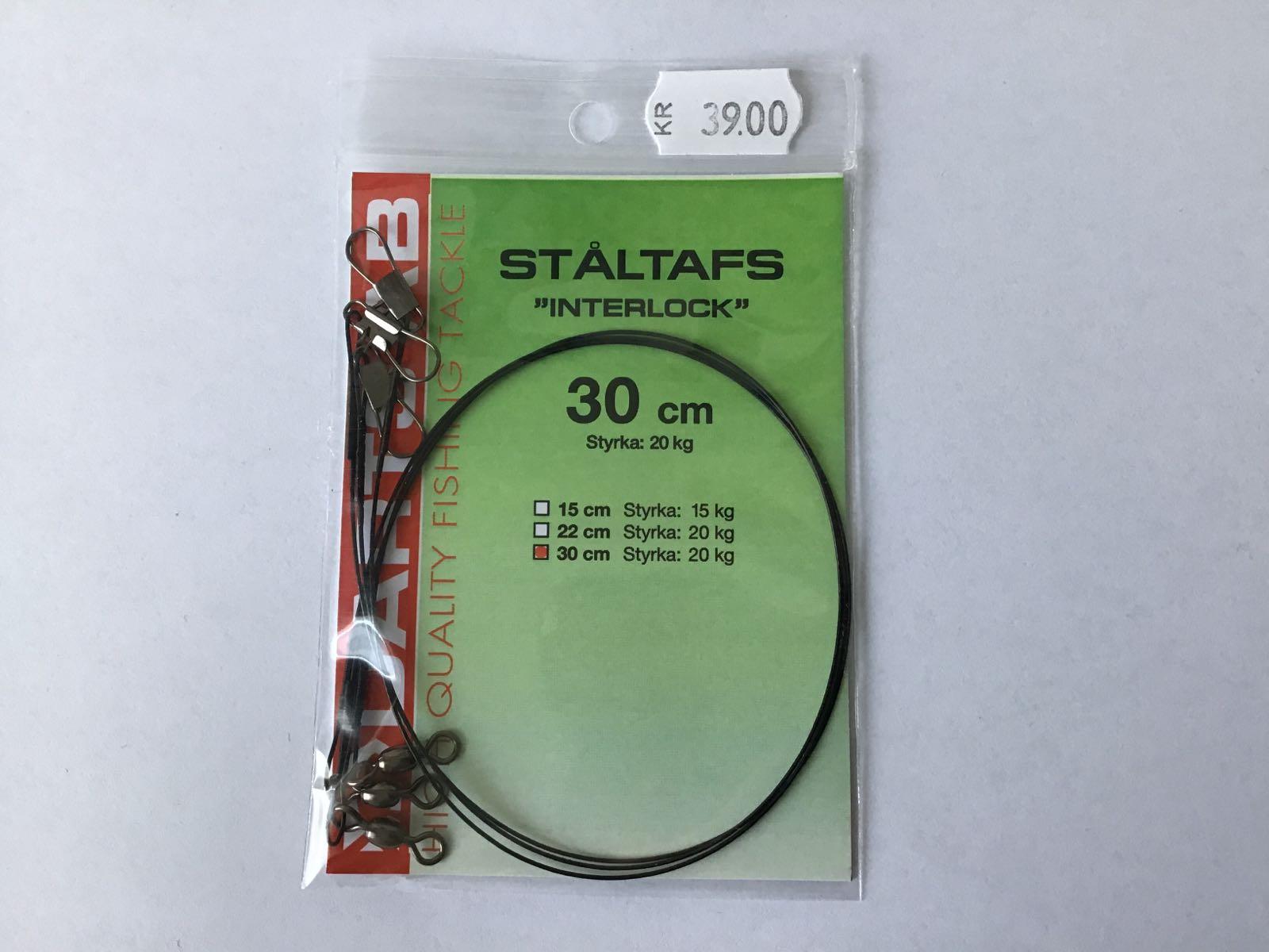 Darts ståltafs interlock 30cm