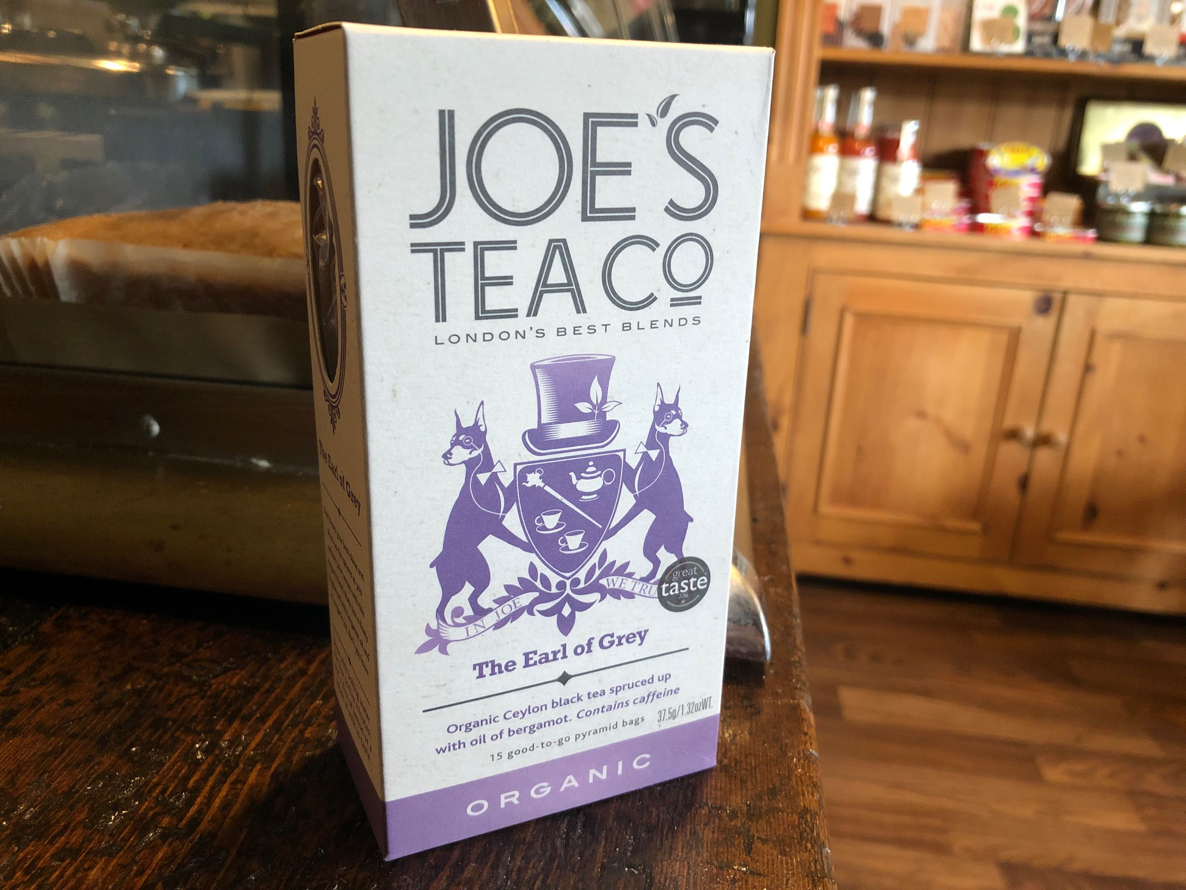 Joe's Tea Co. The Earl of Grey - Organic