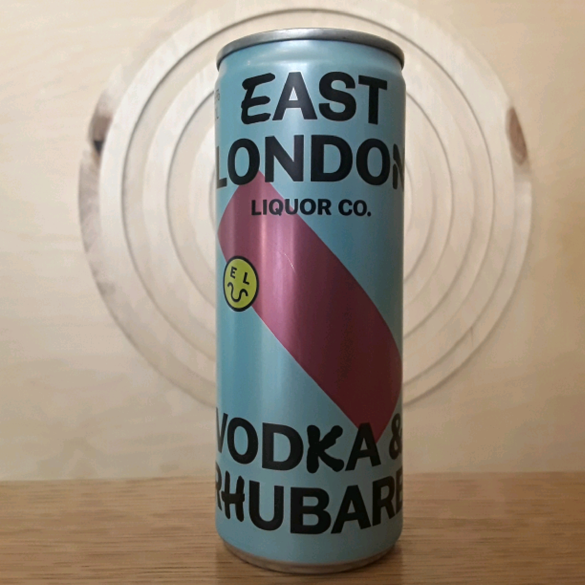 East London Liquor Co Vodka & Rhubarb
