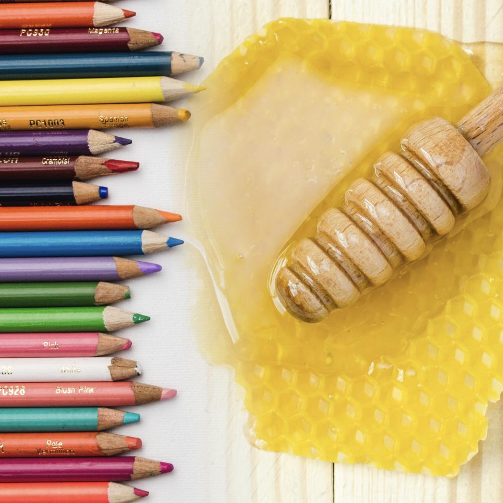 Honig mit personalisiertem Etikett