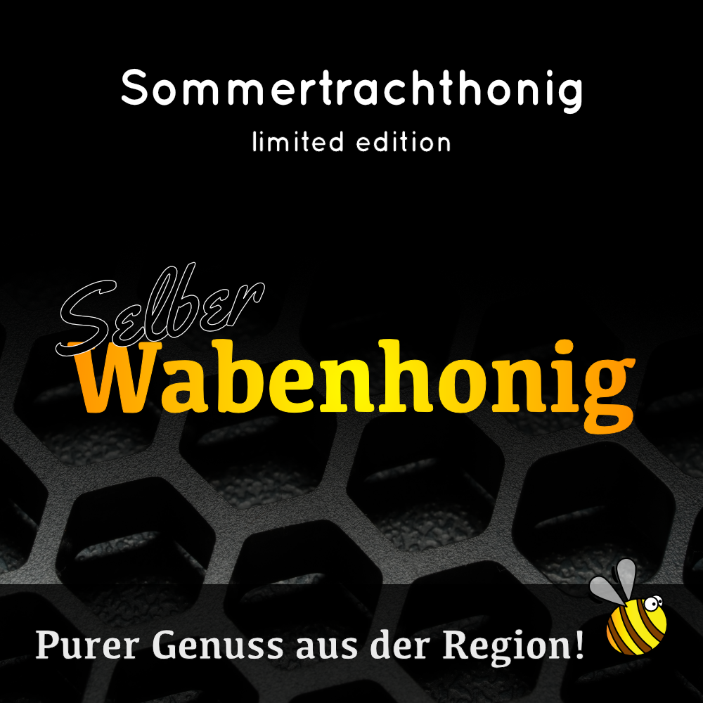 Sommertrachthonig 2019 LIMITED EDITION: Selber Wabenhonig