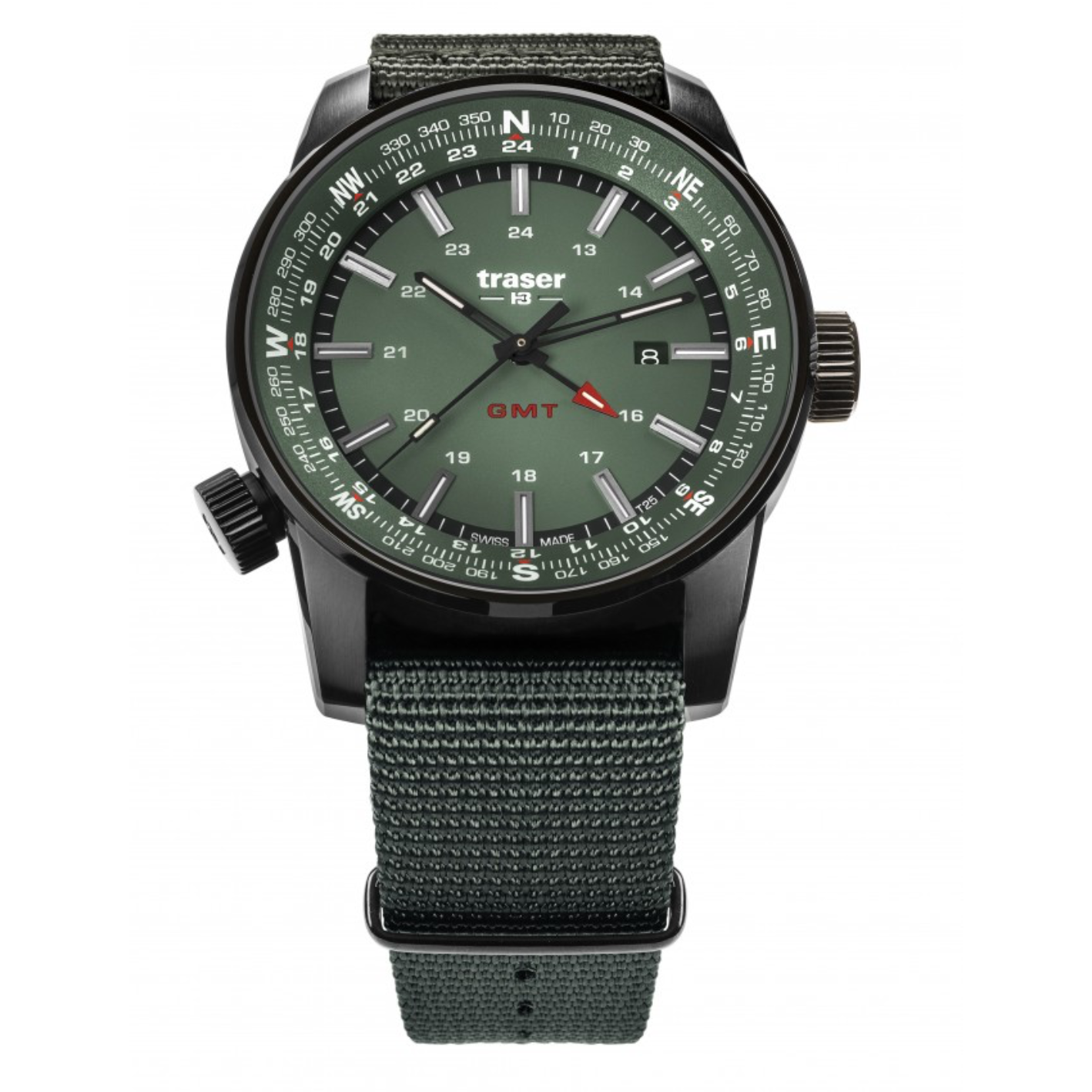 traser P68 Pathfinder GMT Green