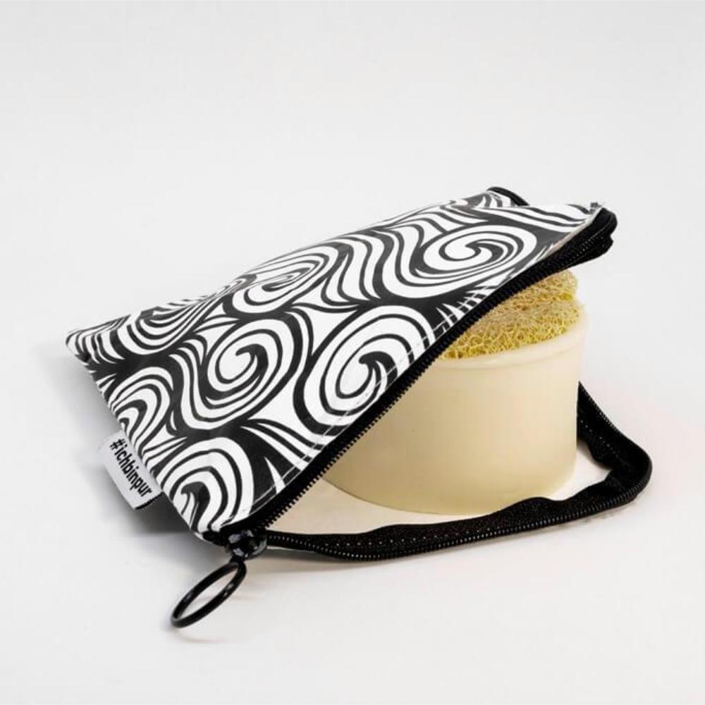PureSeife Seifentasche mit Reissverschluss