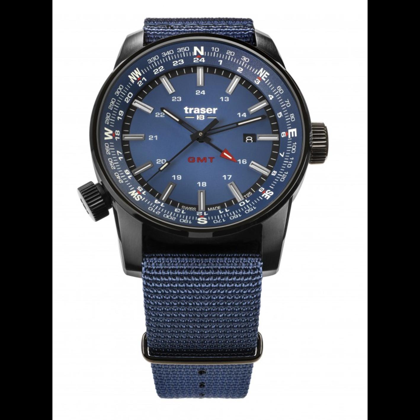 traser P68 Pathfinder GMT Blue