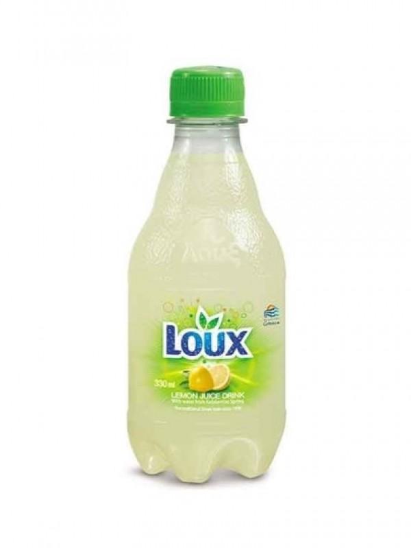"""Kolsyrad citrondryck 250ml """"Loux"""""""