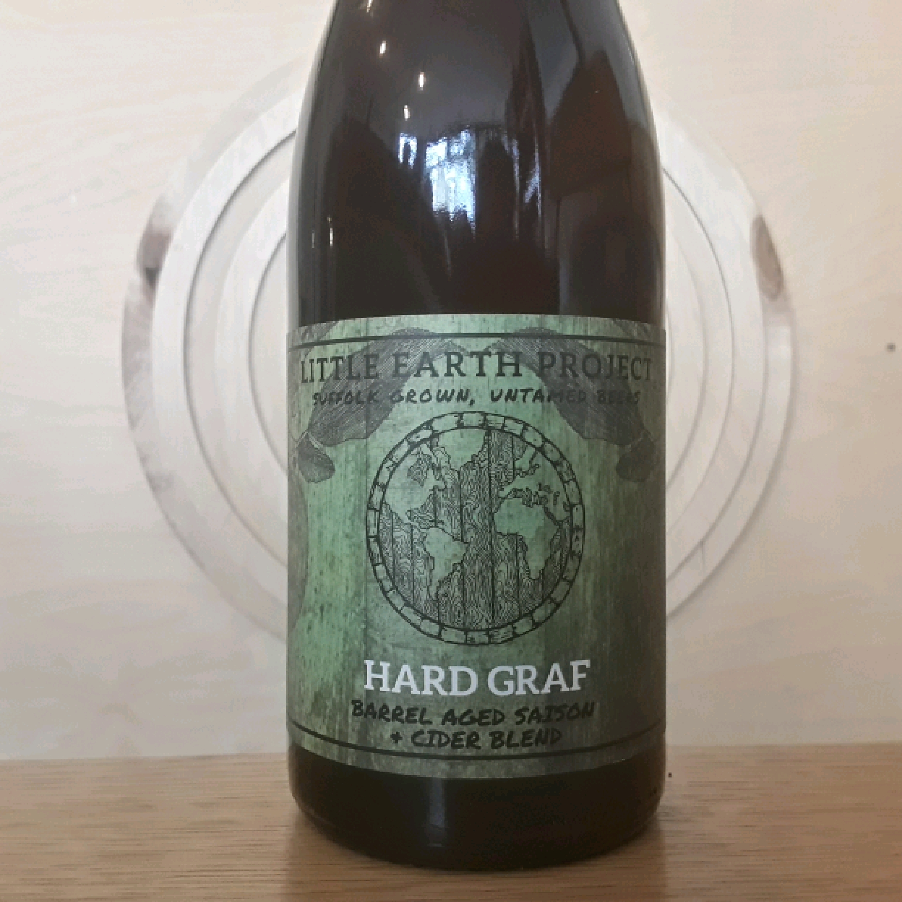 Little Earth Project | Hard Graf | Barrel Aged Saison and Cider Blend