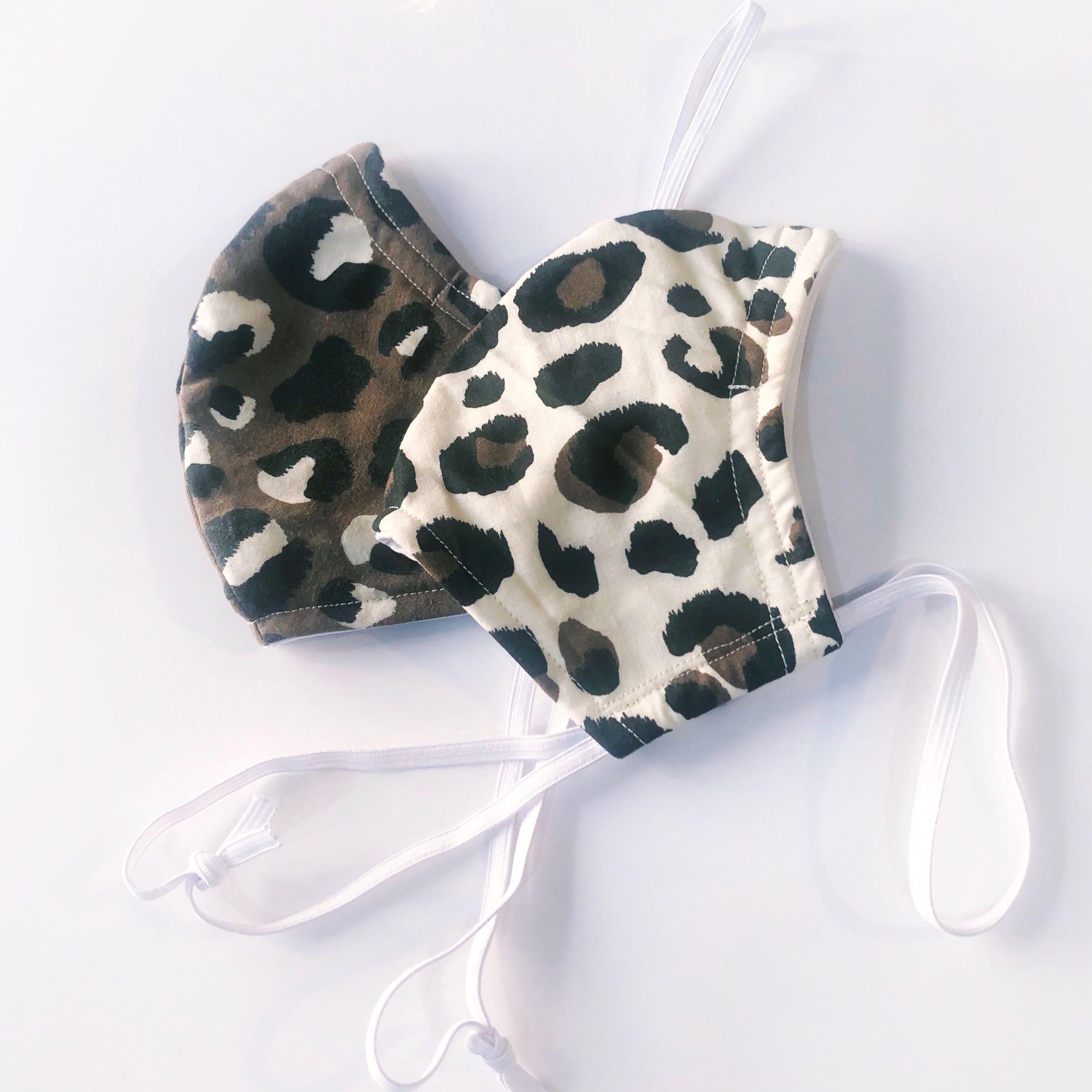 Mask leopard print