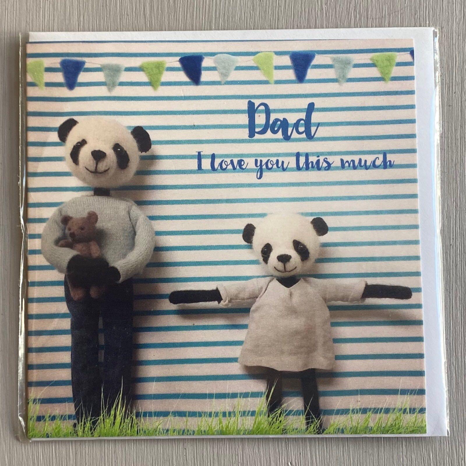 'Dad' Pippi & Me Card