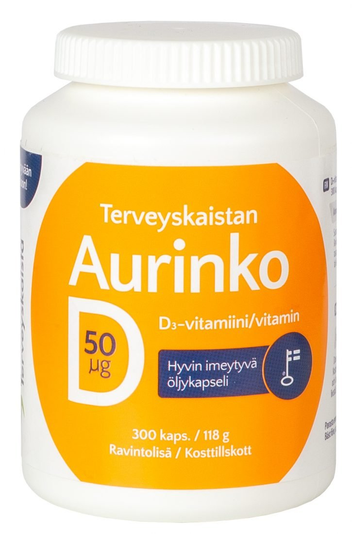 Aurinko D-vitamiini