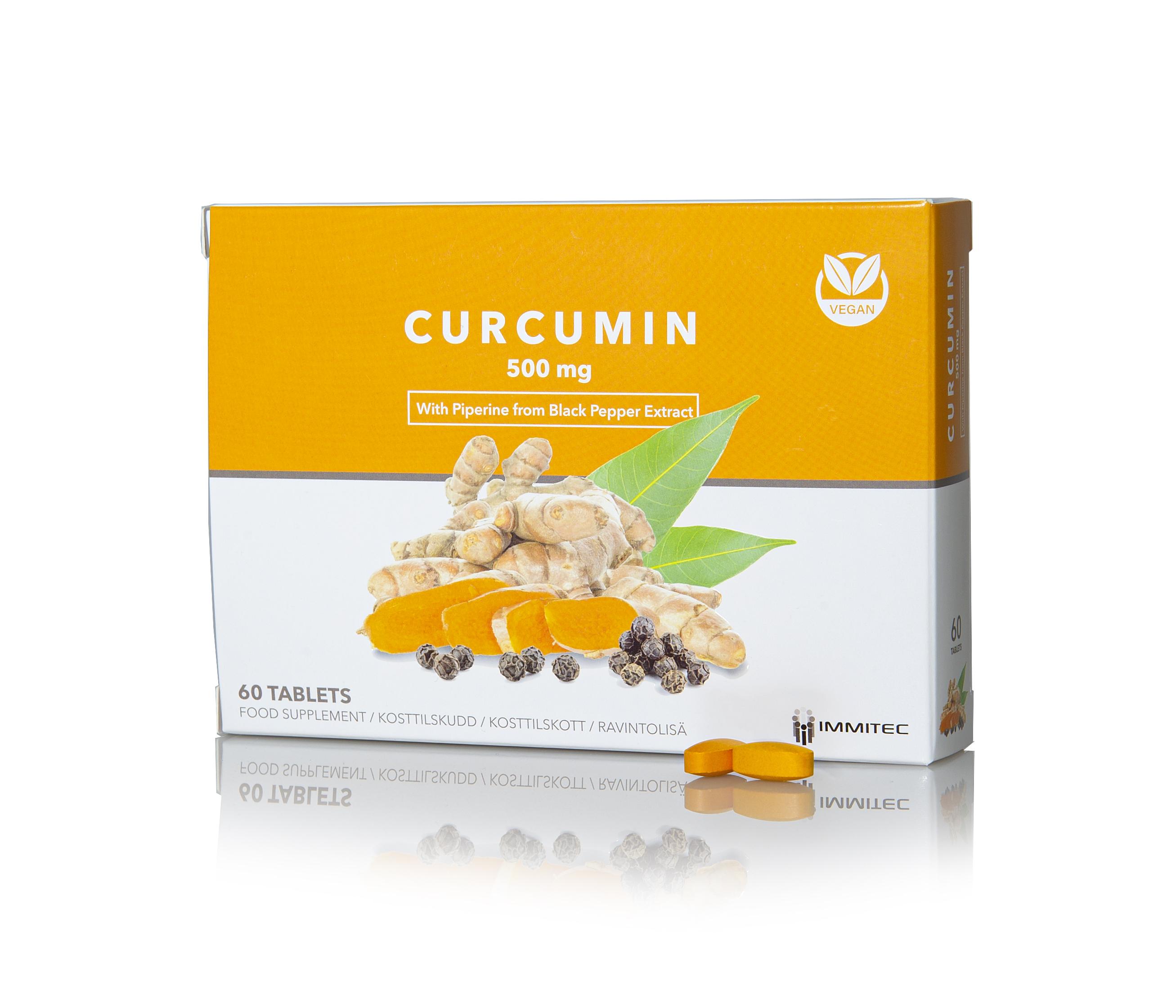 Curcumin 500 mg 60 tabl