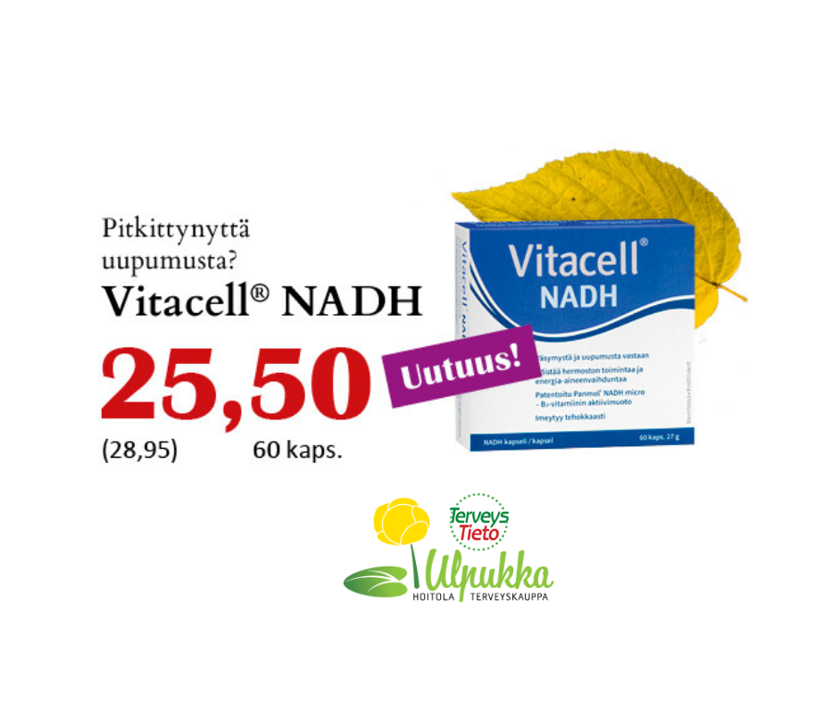 Vitacell® NADH B3 -vitamiini 60 kaps