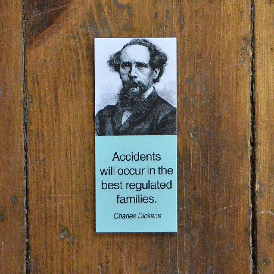 Magnetiskt bokmärke - Charles Dickens