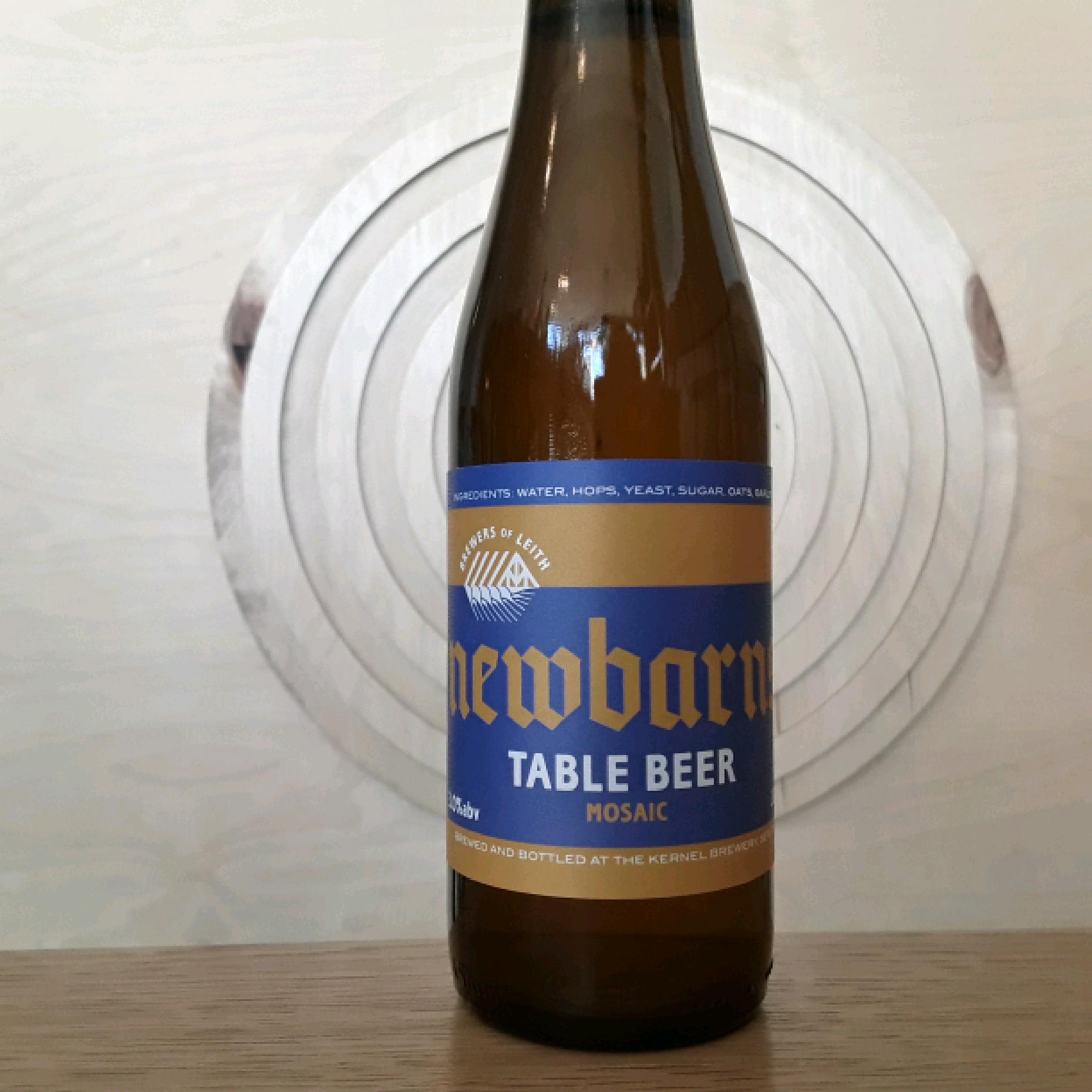 Newbarns Brewery   Table Beer