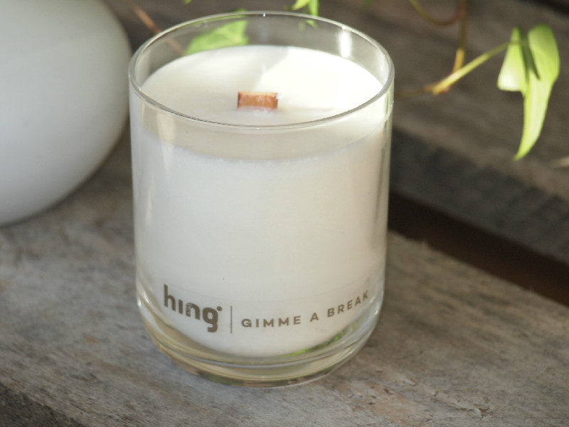 Doftljus Hing Organics - BLOOM