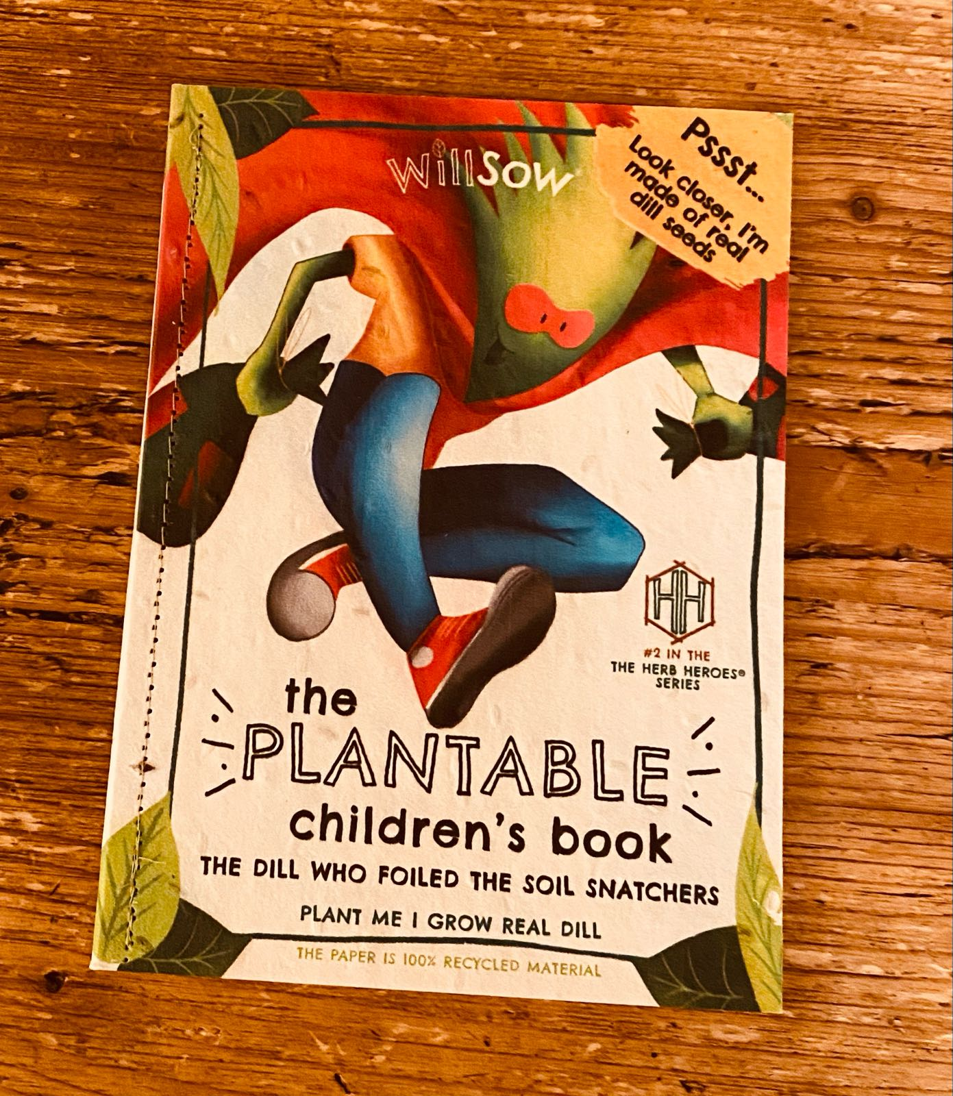 DILL - THE PLANTABLE CHILDREN'S BOOK