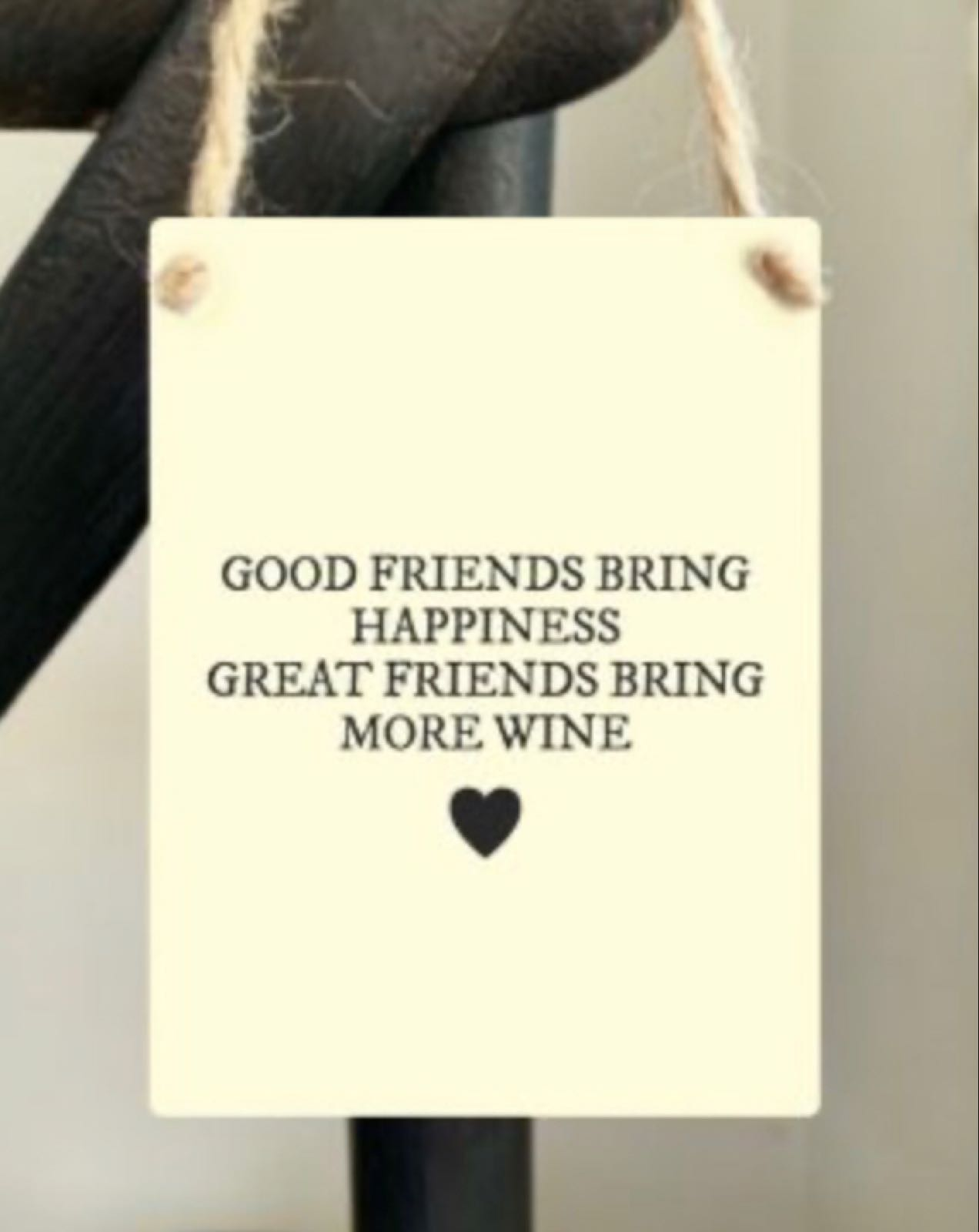 Friends Bring Happiness Hanger