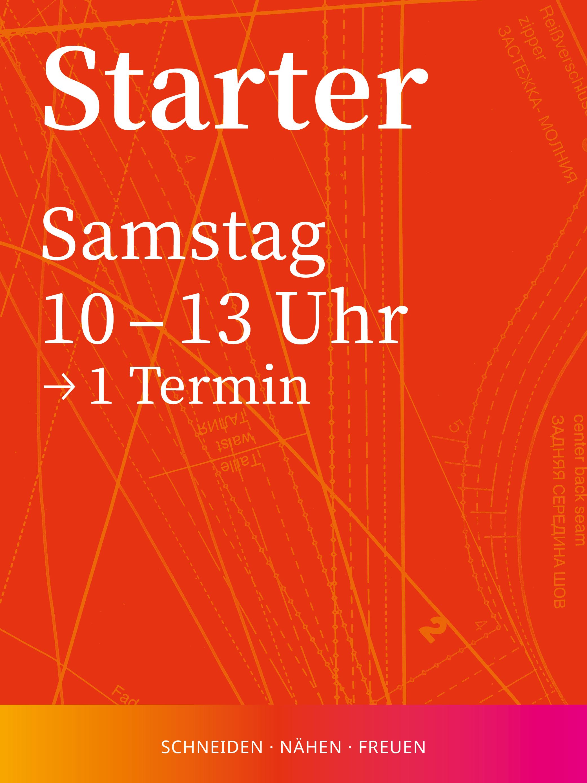Starter 1 | Samstag, 15-20 Uhr, 1 Termin