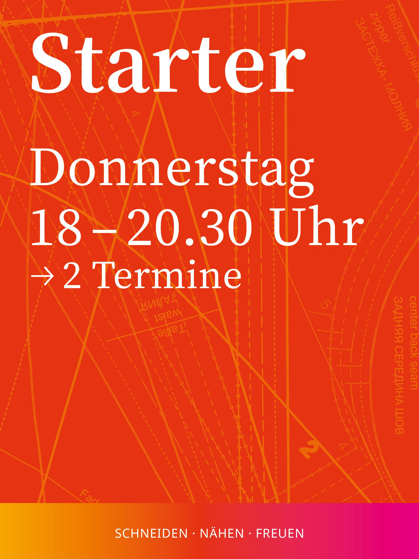 Starter 2 | Donnerstag, 18-20.30 Uhr, 2 Termine