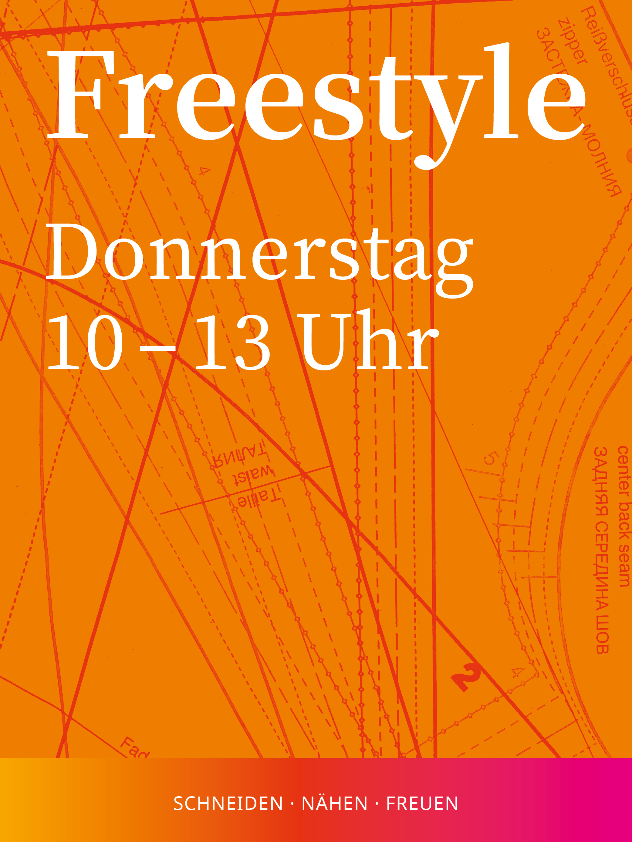 Freestyle | Donnerstag 10-13 Uhr