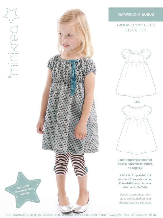 Minikrea – Empirekleid