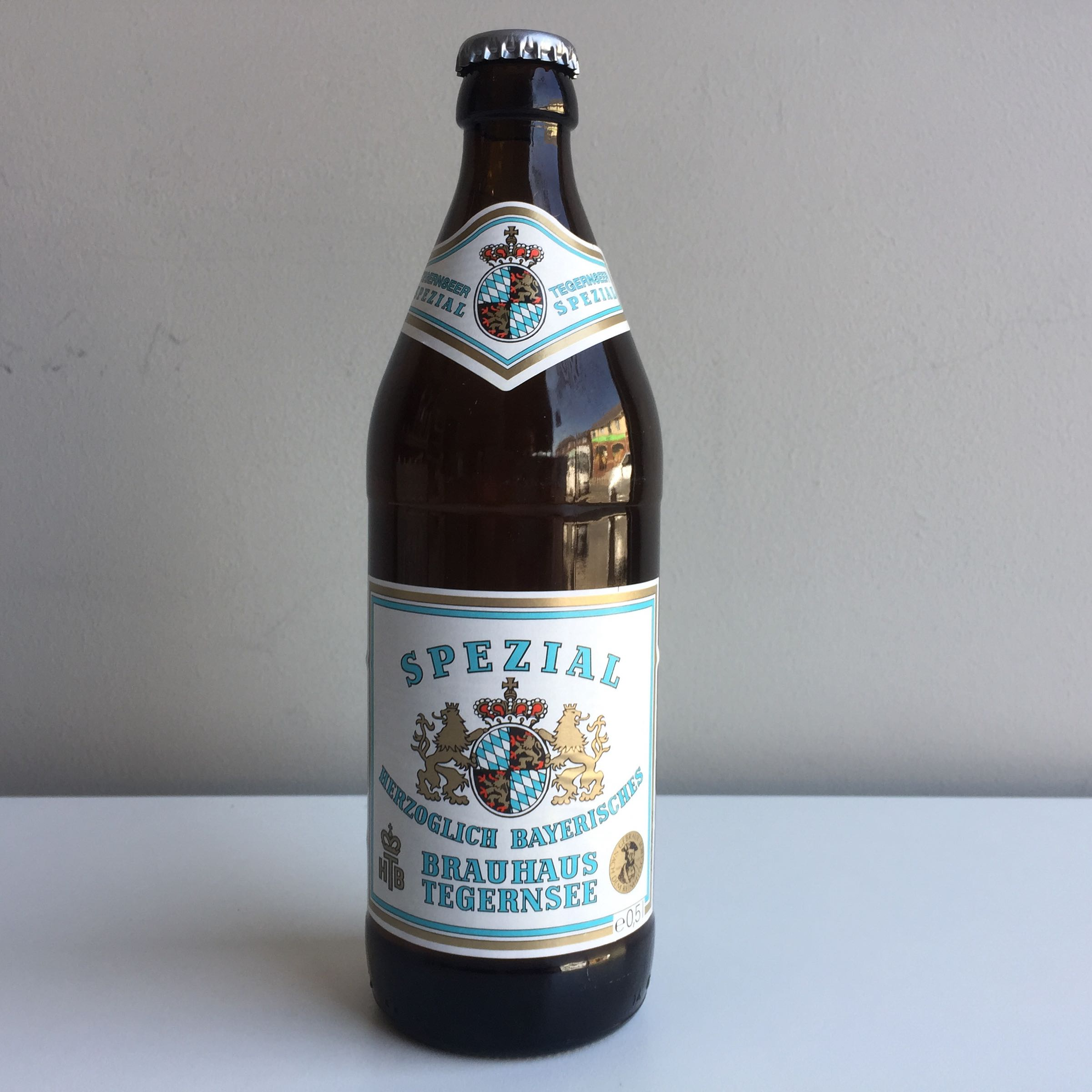 Tegernsee Spezial Lager 500ml 5.6% a ABV