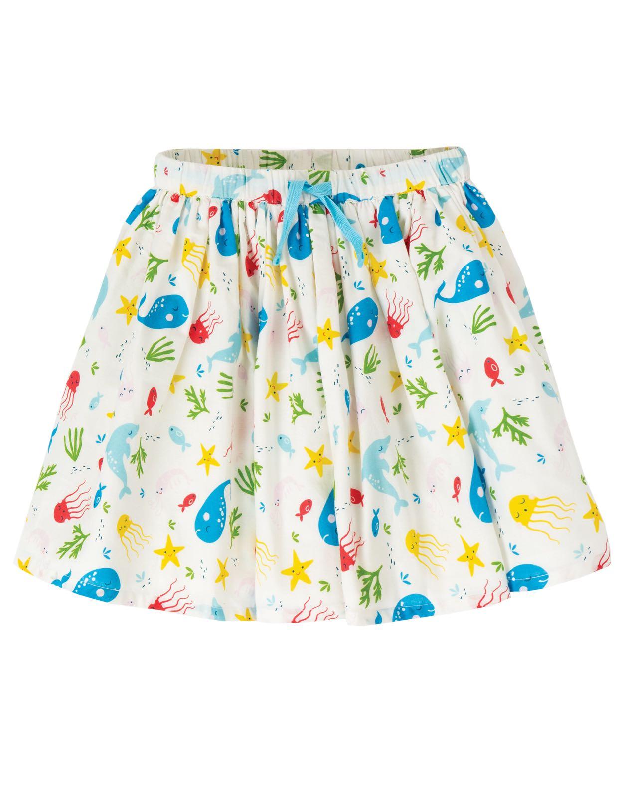 Frugi Fiona Full Skirt Splashing About