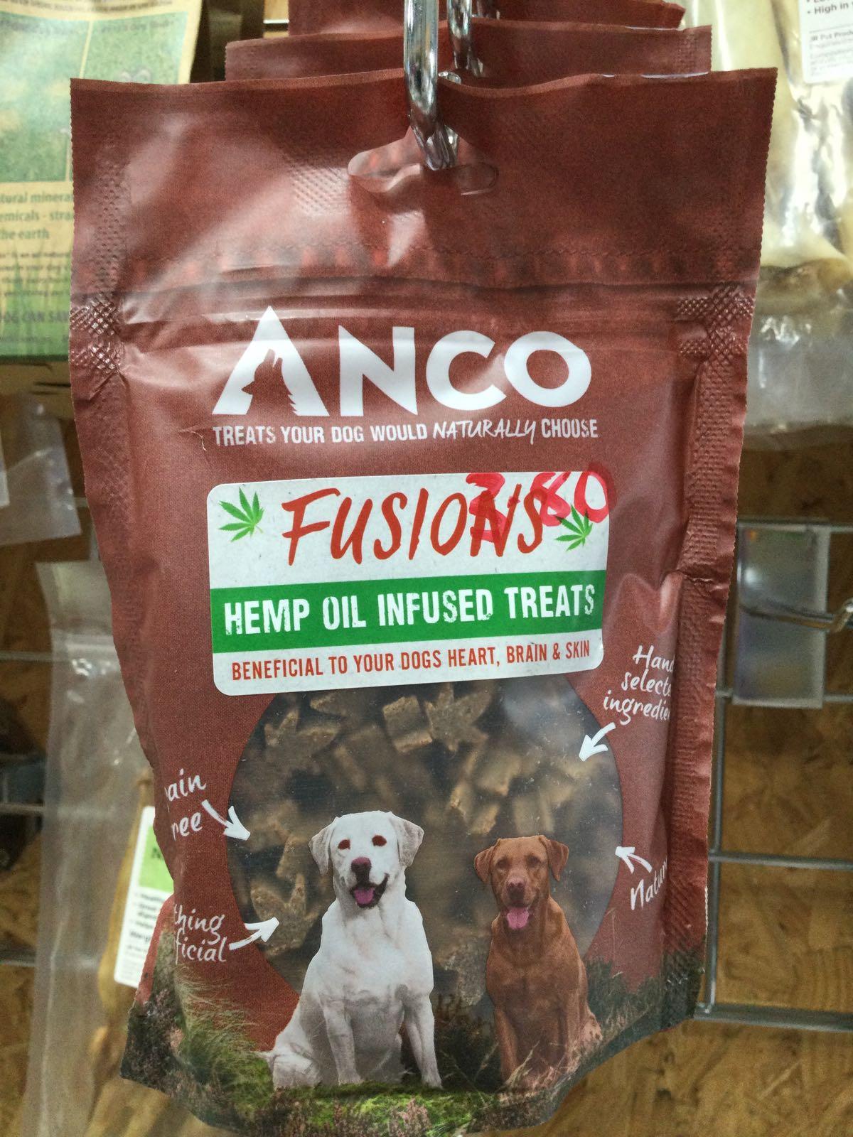 Anco Fusions- Hemp oil infused treats