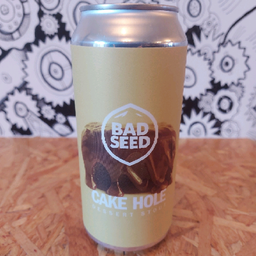 Bad Seed Cake Hole Dessert Stout 5.7%