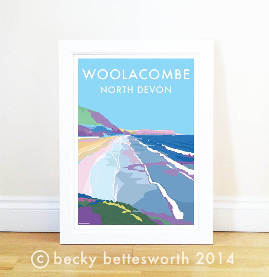 Woolacombe Poster