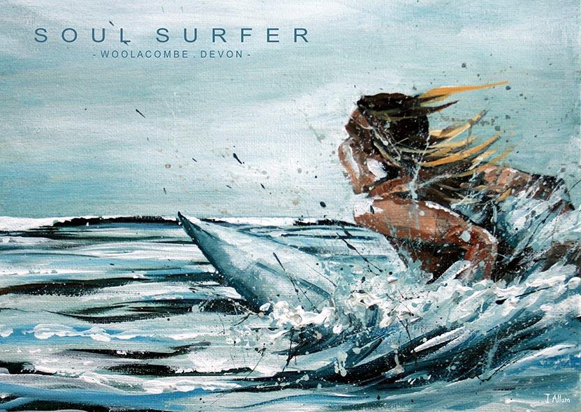 Soul Surfer Art Print