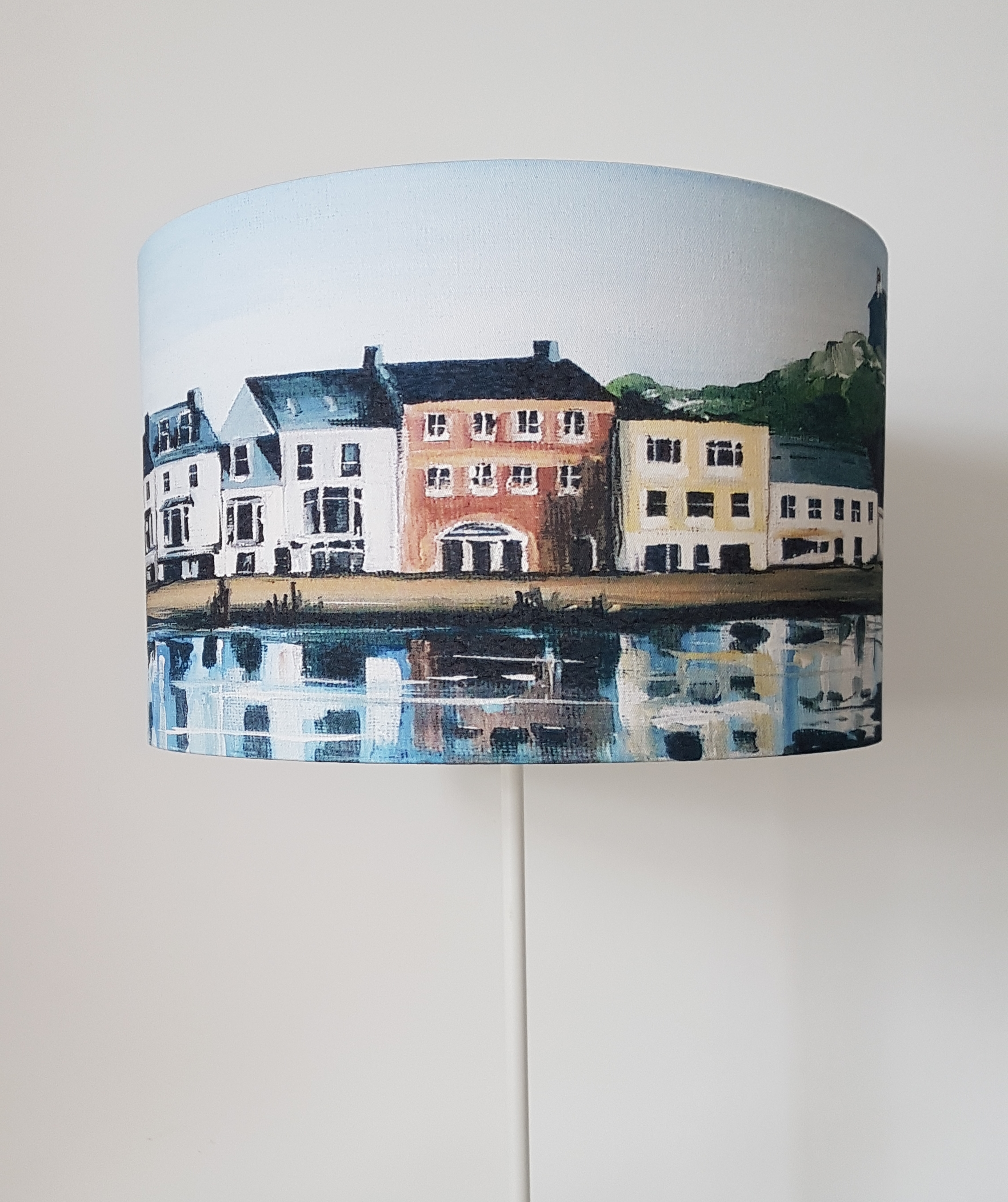 Lampshade. Harbour houses