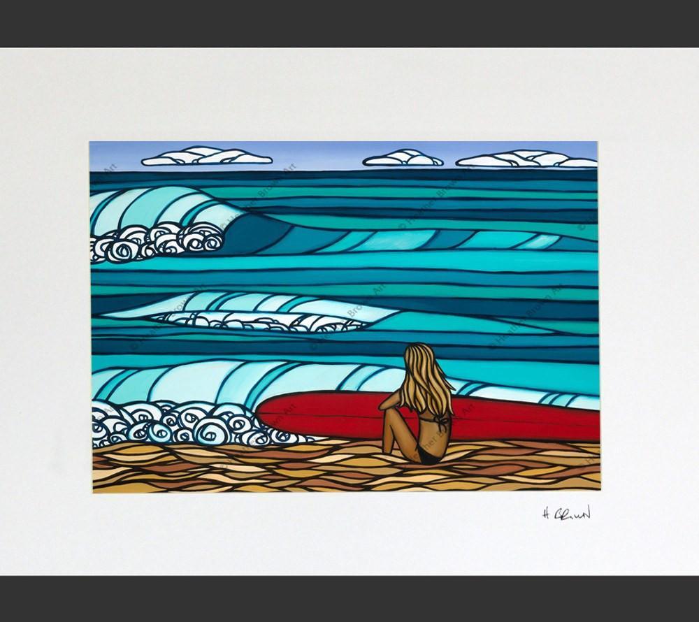 Heather Brown Surf Girl