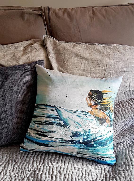 Cushion. Soul surfer
