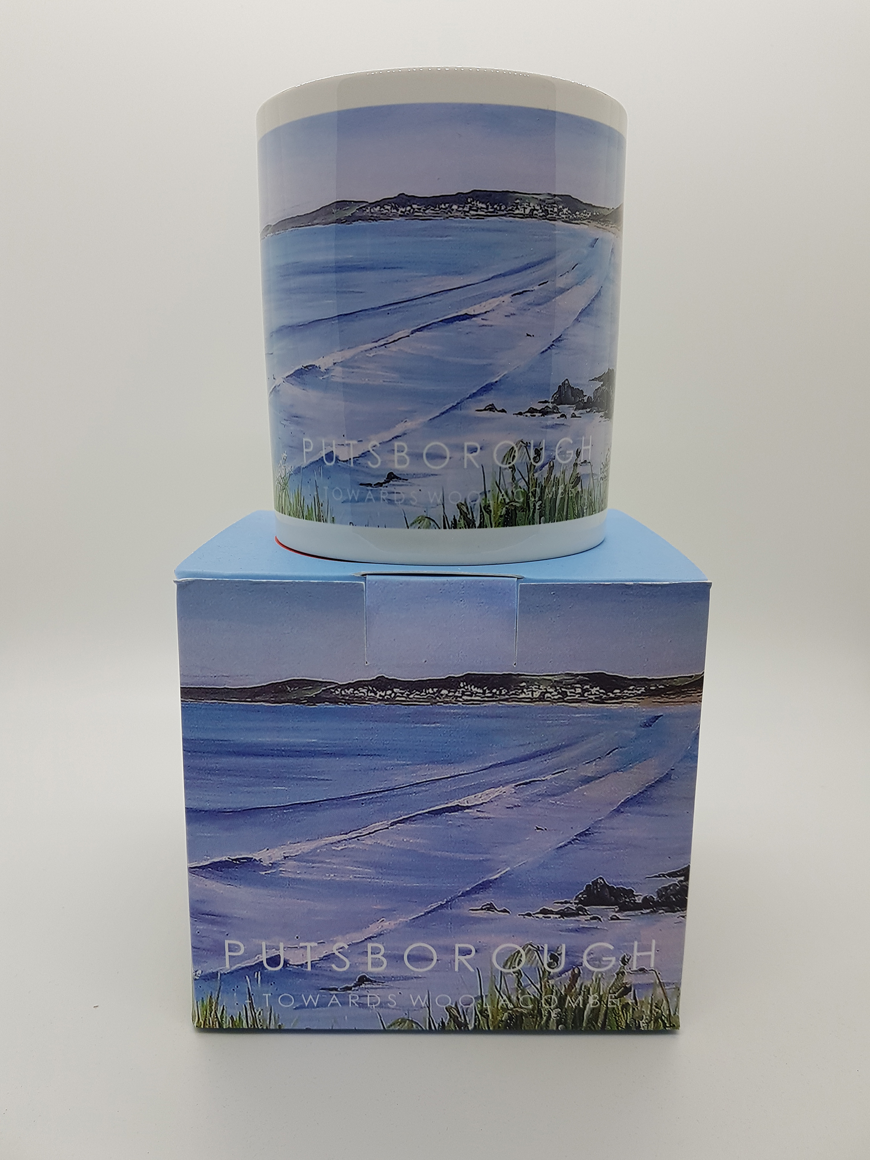 Mug featuring Putsborough beach