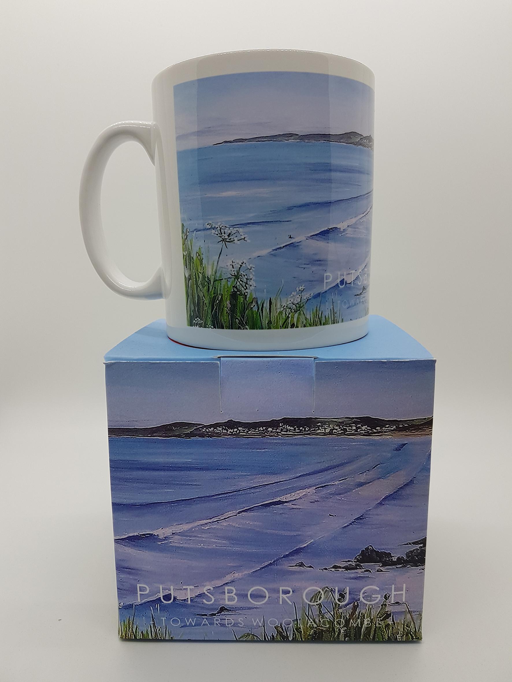 Mug featuring Putsborough beach