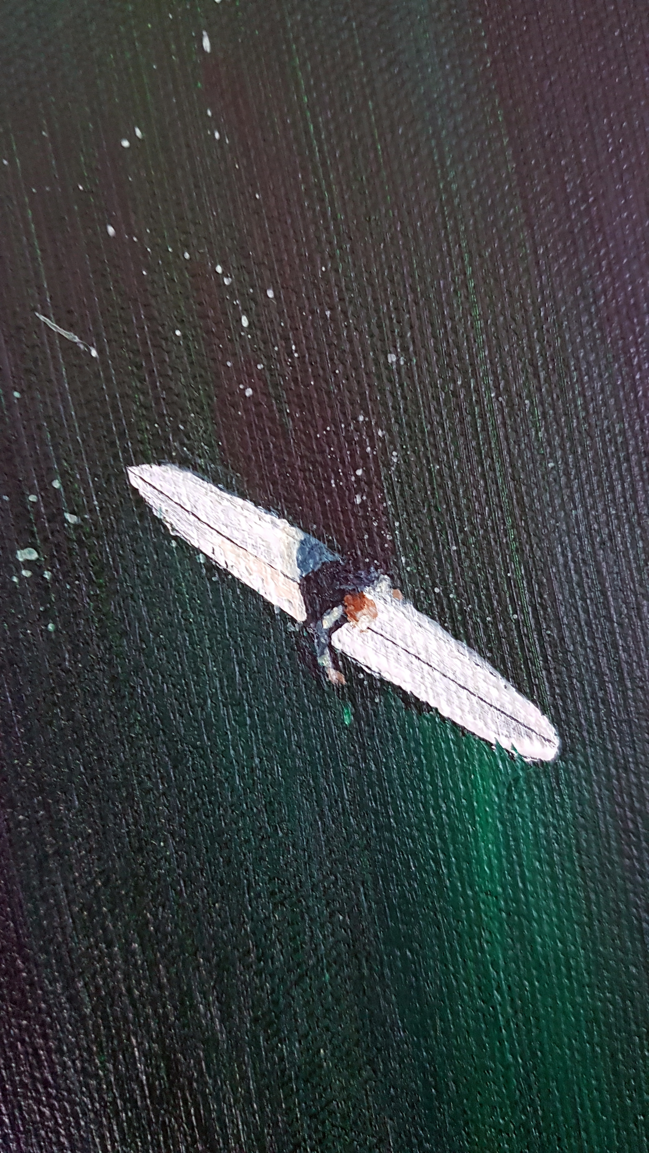 Art. Original painting by Jo Allum 'Aerial surf II'