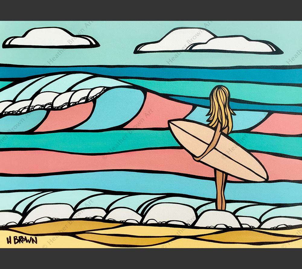 Heather Brown Candy Surf