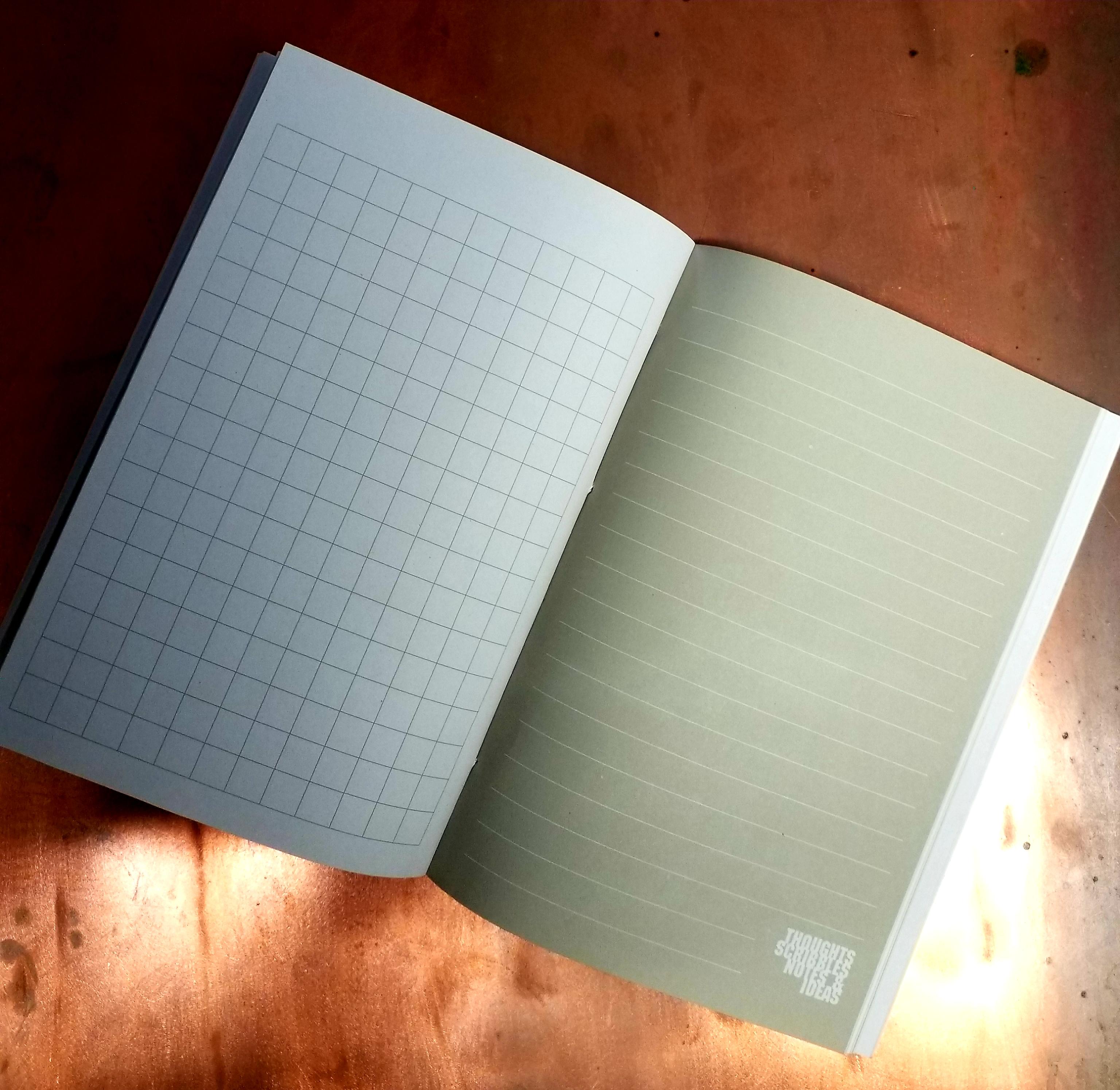 A5 beach notebook