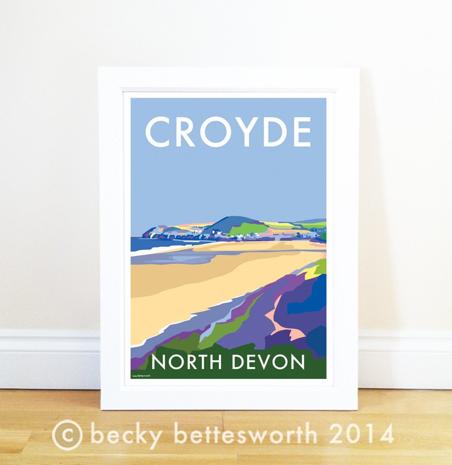Croyde Poster