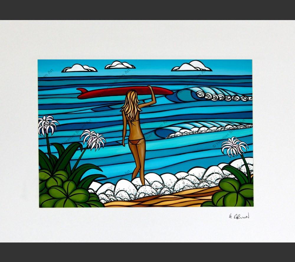 Heather Brown Surf Stroll