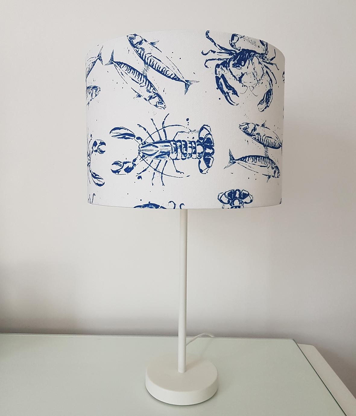 Lampshade. Sea life