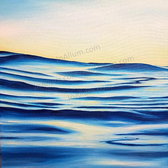 Art. Original painting 'Dawn Patrol' by J Allum