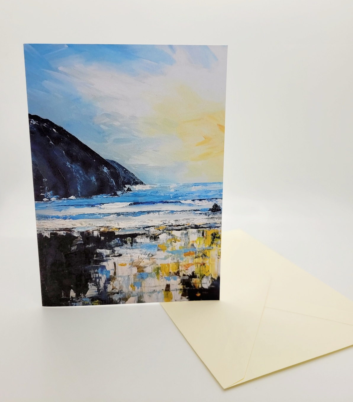 Greetings card. Putsborough
