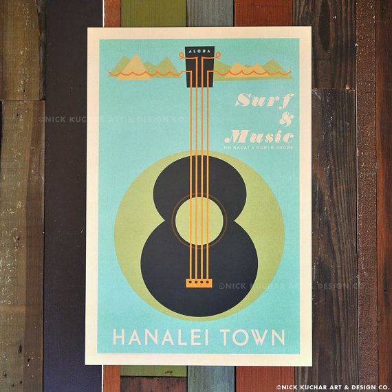 Surf & Music Hanalei Town