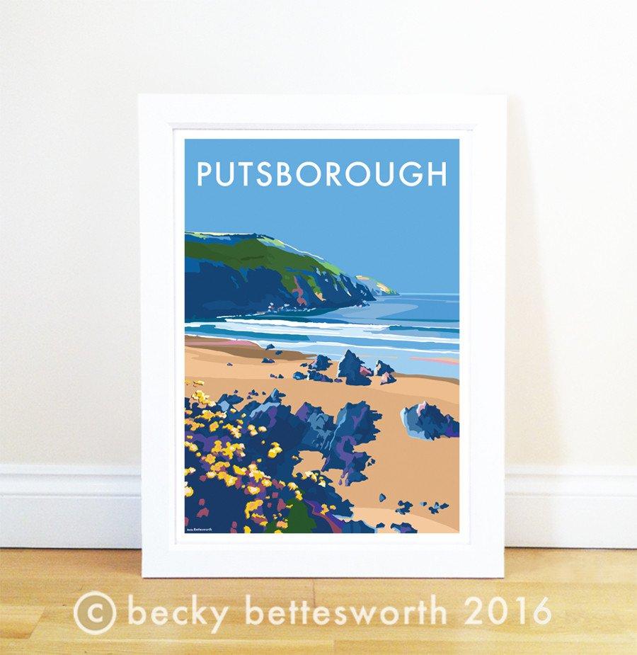 Putsborough Poster