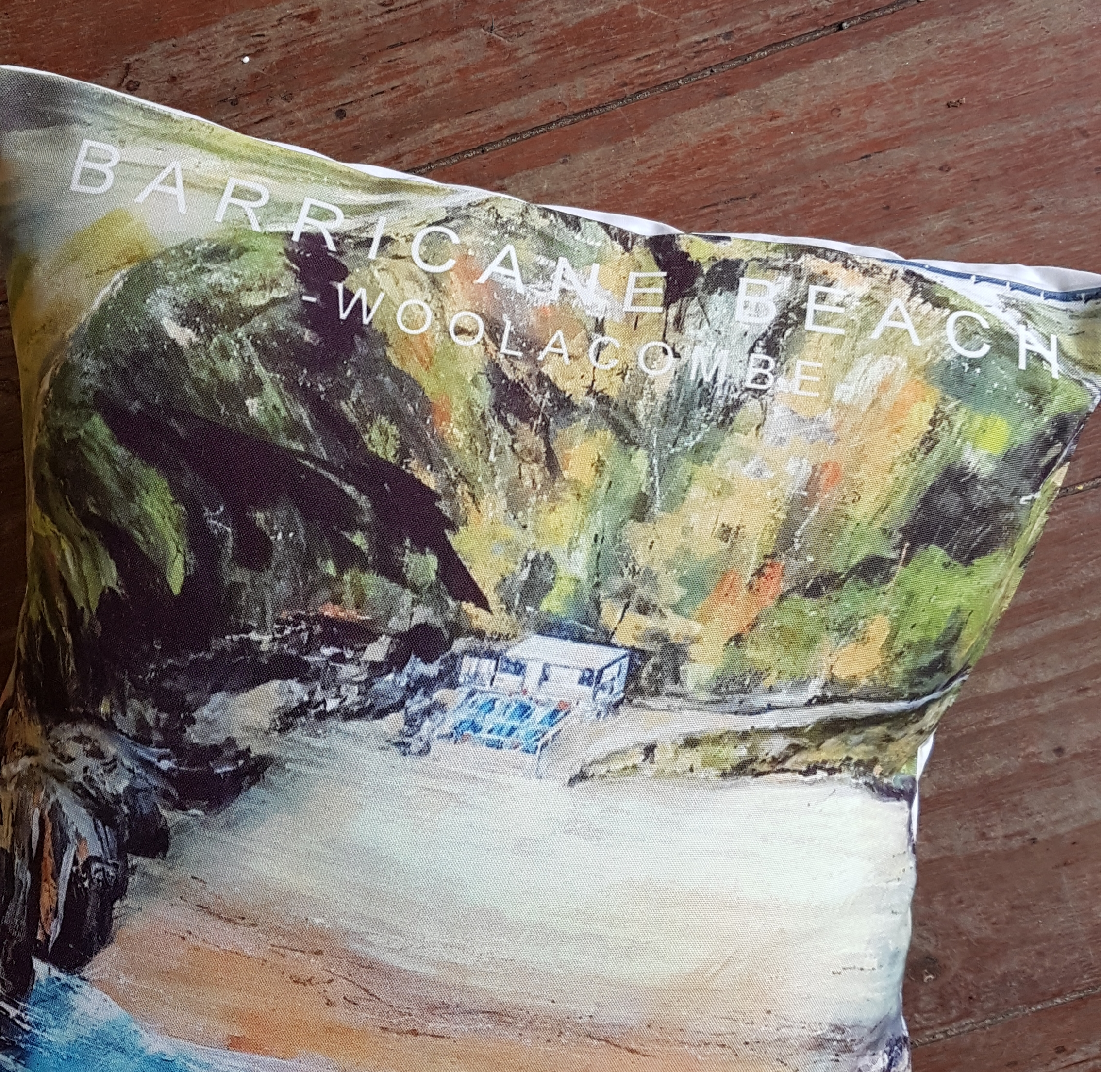 Cushion. Barricane Beach