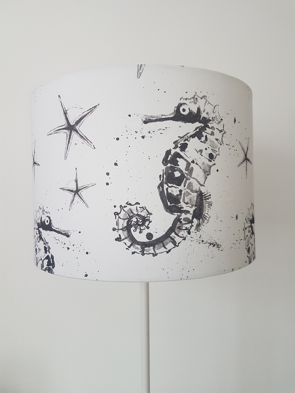 Lampshade. Seahorse